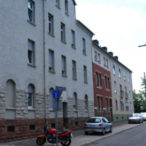 Häuser der Eisenbahner Wohnungsbaugenossenschaft Saarbrücken-Rodenhof, Foto: Uwe Büch