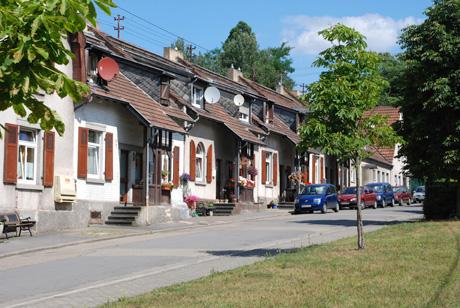 Stummsche Arbeitersiedlung in Brebach bei Saarbrücken, Foto von Uwe Büch