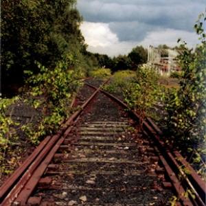 Stillgelegter Schienenstrang bei Neunkirchen, Foto: Gabriele Scherer